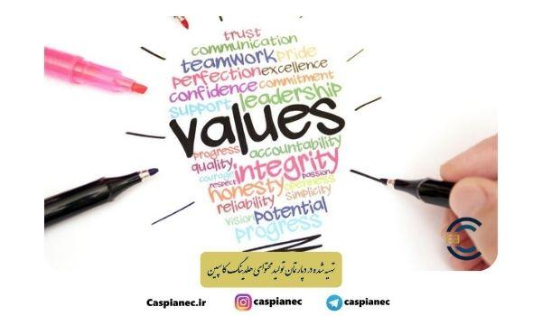 ارزش های سازمانی